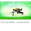 Log splitters are designed to save significant amount of time